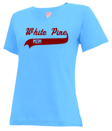 White Pine Elementary School  V-neck Shirts