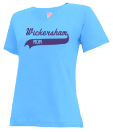Wickersham School Of Discovery  V-neck Shirts