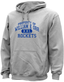 William E Orr Middle School  Hoodies