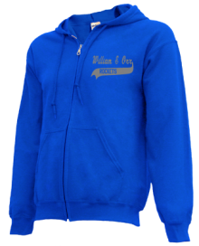William E Orr Middle School  Zip-up Hoodies