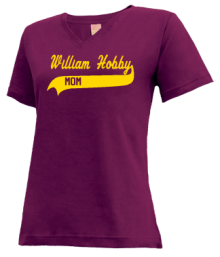 William Hobby Middle School  V-neck Shirts