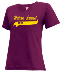 William Lemmel Middle School #79  V-neck Shirts