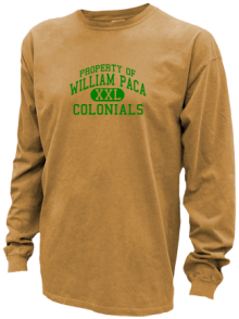 William Paca Middle School  Pigment Dyed Shirts