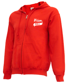 Wilson Middle School  Zip-up Hoodies