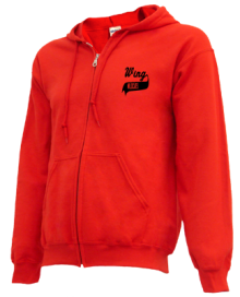 Wing Elementary School  Zip-up Hoodies