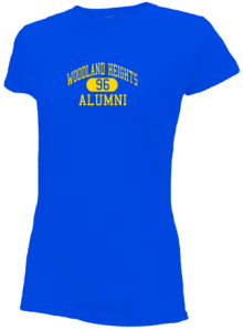 Woodland Heights Elementary School  Slimfit T-Shirts