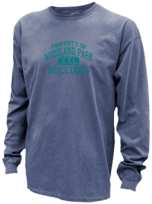 Woodland Park Middle School  Pigment Dyed Shirts