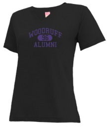 Woodruff Elementary School  V-neck Shirts
