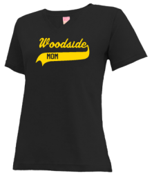 Woodside Elementary School  V-neck Shirts