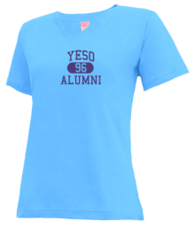 Yeso Elementary School  V-neck Shirts