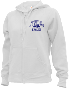 A D Williams Elementary School Zip-up Hoodies