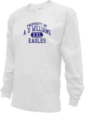 A D Williams Elementary School Kid Long Sleeve Shirts