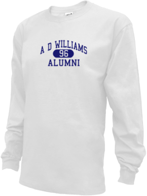 A D Williams Elementary School Long Sleeve Shirts