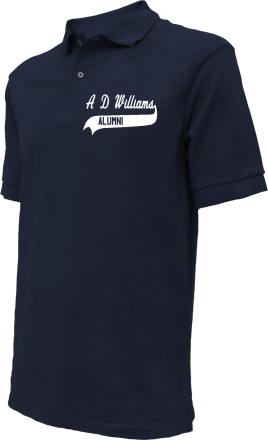 A D Williams Elementary School Embroidered Polo Shirts