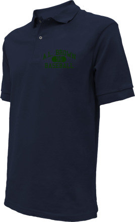 A.L. Brown High School Embroidered Polo Shirts