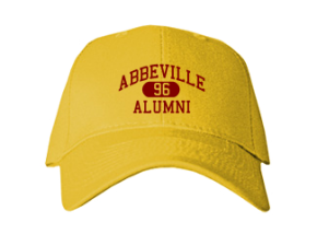Abbeville High School Embroidered Baseball Caps