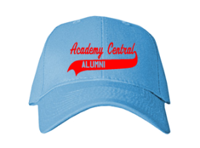 Academy Central Elementary School Embroidered Baseball Caps