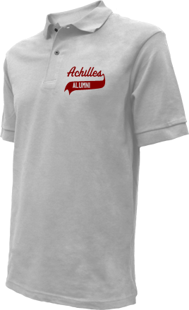 Achilles Elementary School Embroidered Polo Shirts