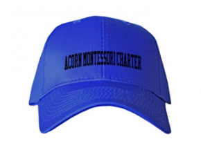 Acorn Montessori Charter School Kid Embroidered Baseball Caps