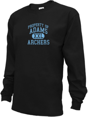 Adams Elementary School Kid Long Sleeve Shirts