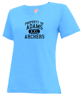 Adams Elementary School V-neck Shirts