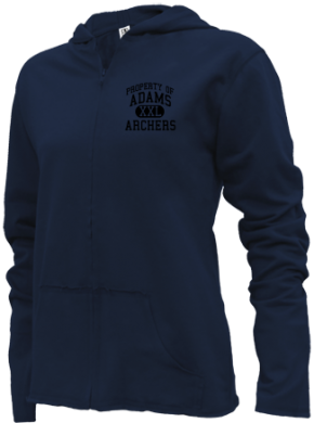 Adams Elementary School Girls Zipper Hoodies