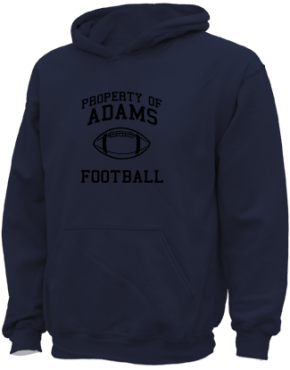 Adams Elementary School Kid Hooded Sweatshirts