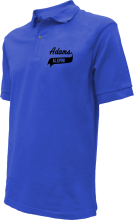 Adams Elementary School Embroidered Polo Shirts