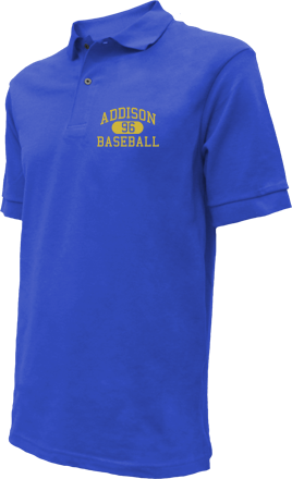 Addison High School Embroidered Polo Shirts