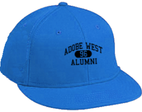 Adobe West School Flat Visor Caps
