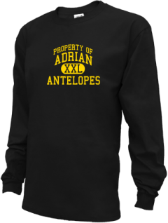 Adrian High School Kid Long Sleeve Shirts
