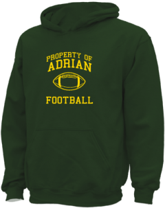 Adrian High School Kid Hooded Sweatshirts