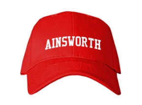 Ainsworth High School Kid Embroidered Baseball Caps