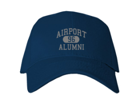 Airport High School Embroidered Baseball Caps