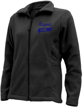 Airport High School Embroidered Fleece Jackets