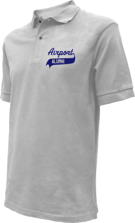 Airport High School Embroidered Polo Shirts