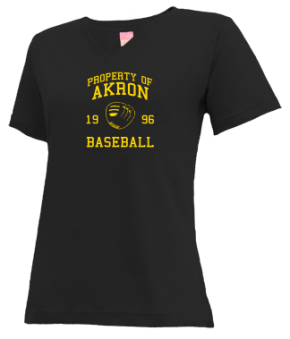 Akron High School V-neck Shirts