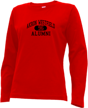 Akron Westfield High School Long Sleeve Shirts