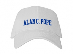 Alan C. Pope High School Kid Embroidered Baseball Caps