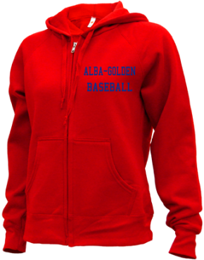 Alba-golden High School Zip-up Hoodies