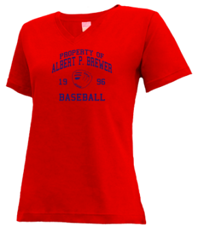 Albert P. Brewer High School V-neck Shirts