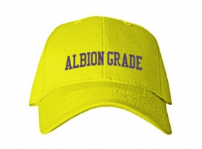 Albion Grade School Kid Embroidered Baseball Caps