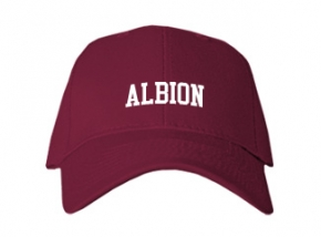 Albion High School Kid Embroidered Baseball Caps