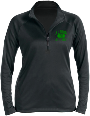 Albion Middle School Stretch Tech-Shell Compass Quarter Zip