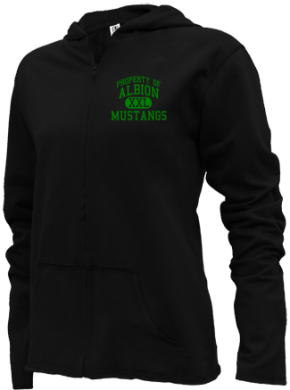 Albion Middle School Girls Zipper Hoodies