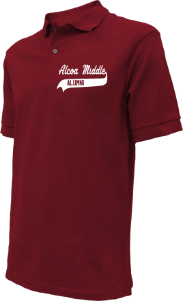 Alcoa Middle School Embroidered Polo Shirts