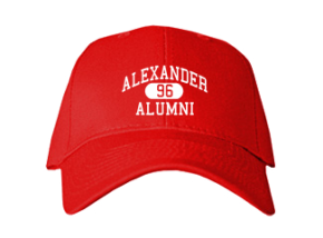 Alexander Elementary School Embroidered Baseball Caps