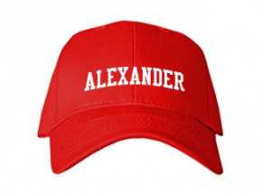 Alexander Elementary School Kid Embroidered Baseball Caps