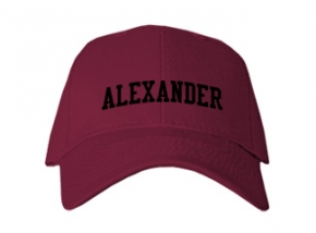 Alexander High School Kid Embroidered Baseball Caps