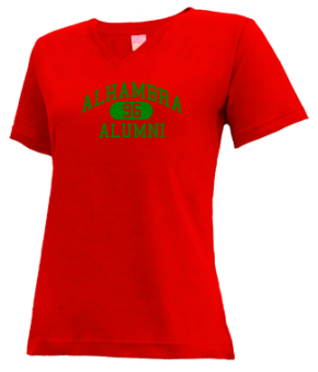 Alhambra High School V-neck Shirts